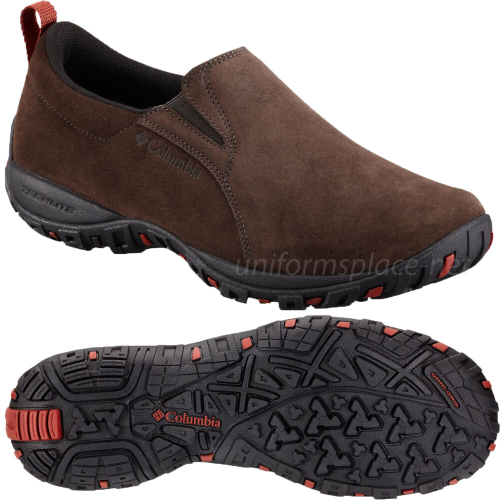 columbia shoes mens peakfreak nomad moc fits suede leather