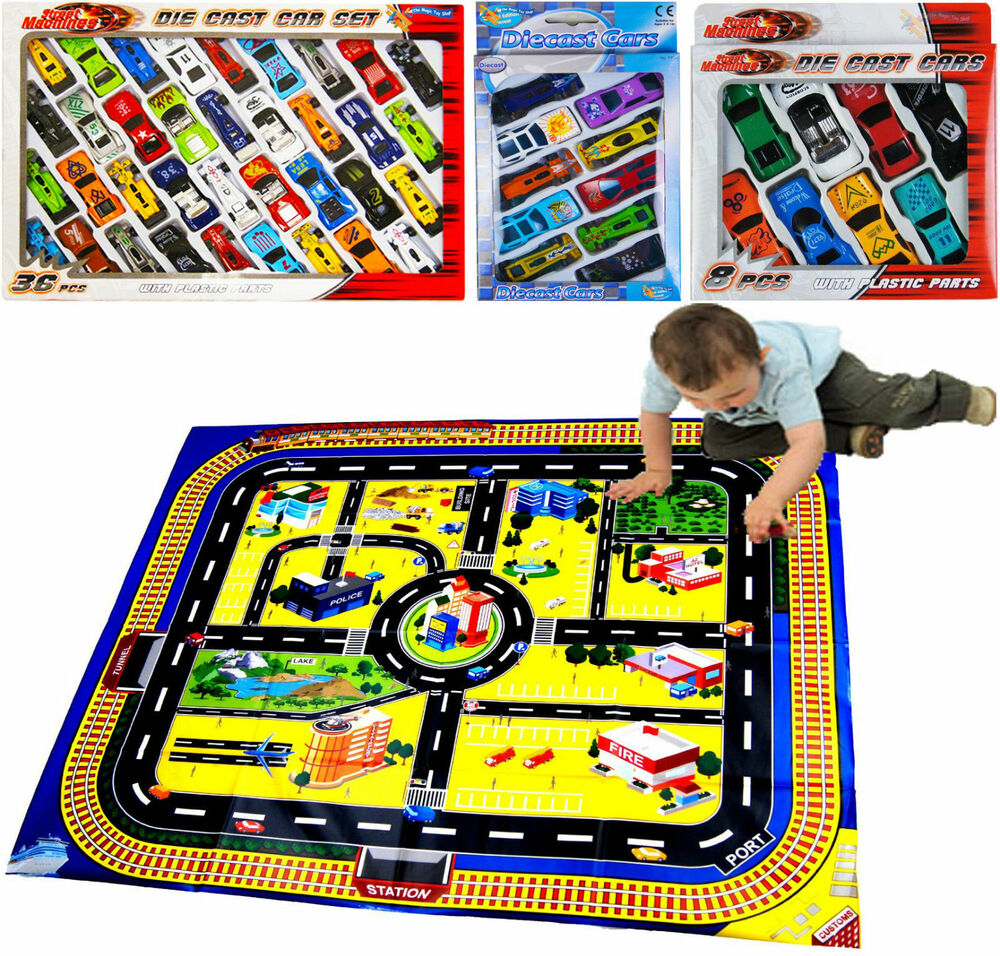Die Cast F1 Racing Cars Vehicle Play Set Toy Car Childrens