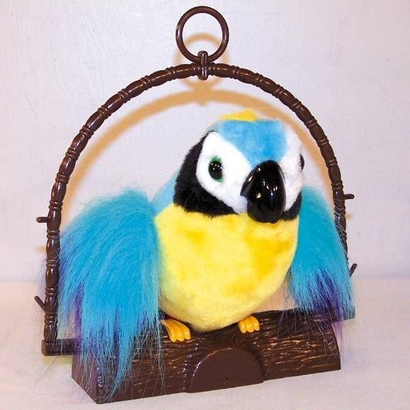 Details about funny LG INSULTING TALKING PARROT toy joking bird gags funny  joke weird new d3cbb95cd8