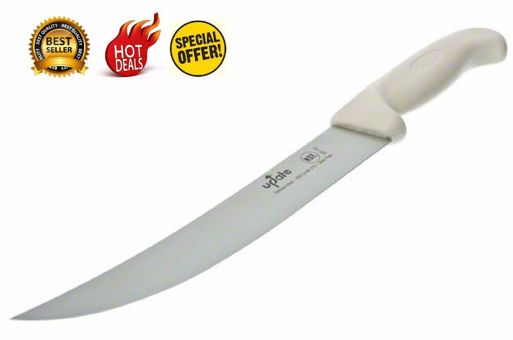 kitchen chef 39 s knife cutlery multi 10 german stainless steel scimitar butcher ebay. Black Bedroom Furniture Sets. Home Design Ideas