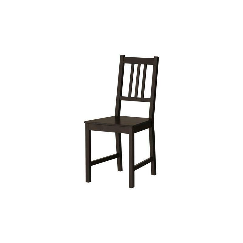 Ikea chair stefan solid wood kitchen dining room ebay