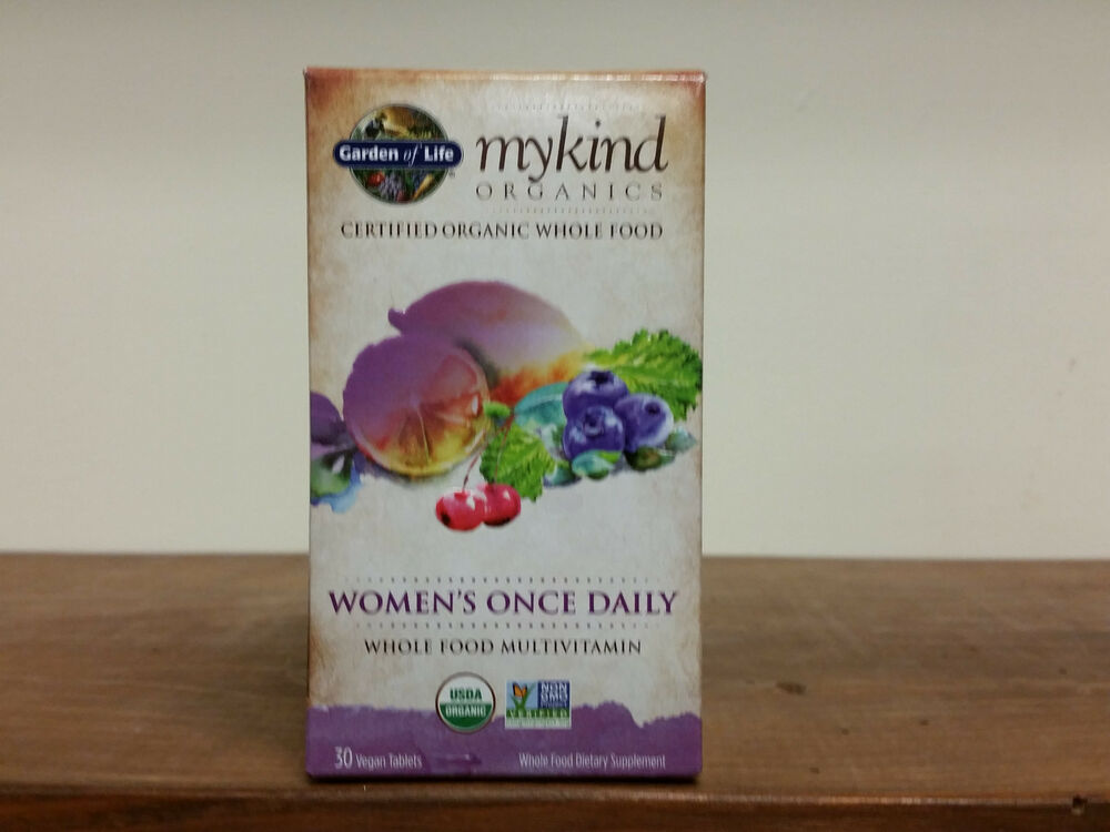 garden of life mykind organics women s once daily multi