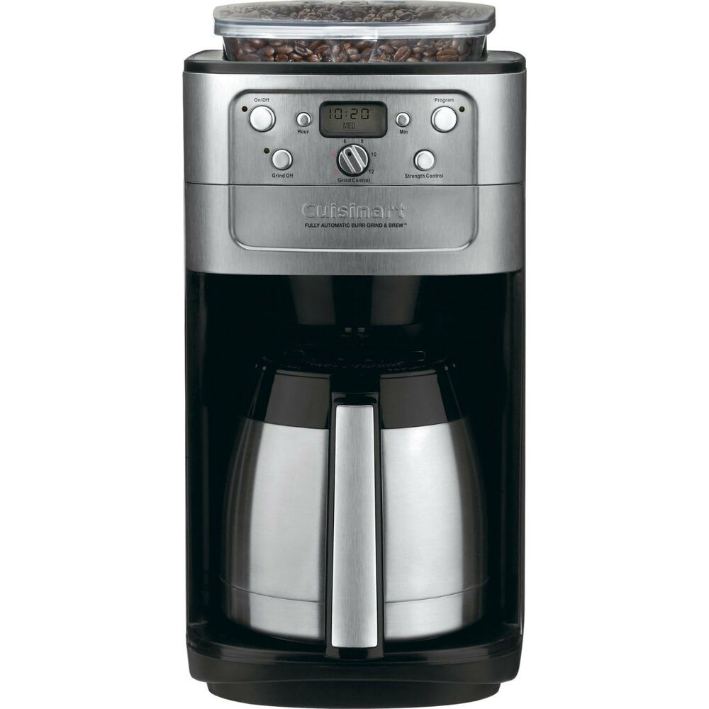 Coffee Maker With Grinder Reddit : Cuisinart Grind & Brew Thermal 12-Cup Automatic Coffeemaker DGB-900BC 68459244925 eBay