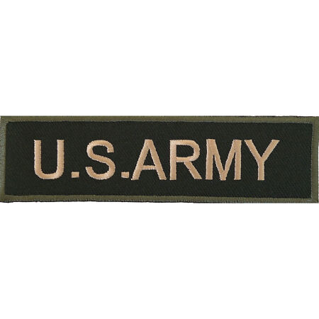 img-US Army Embroidered Iron / Sew On Patch United States Bag Jacket Military Badge