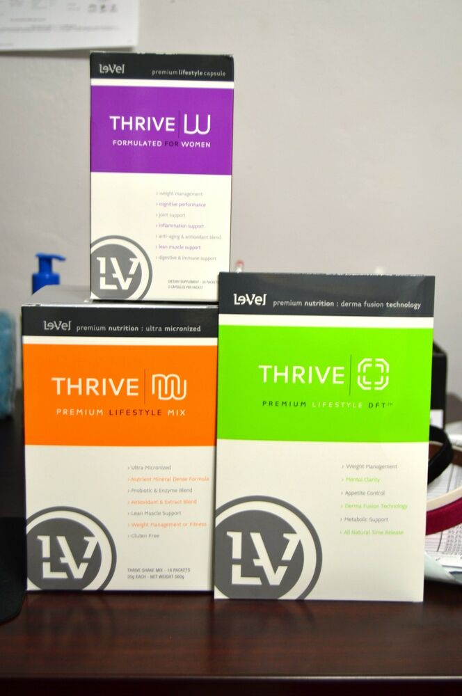 Weight Loss Pills For Women >> Le-Vel Thrive Women Pack - Vitamins, DFT Patches and Shakes | eBay