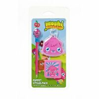 Moshi Monsters Poppet Stylus Pack For DS / DSi / 3DS (New & Sealed)