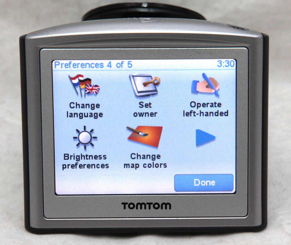 tomtom one gps navigation with 2018 australia uk ireland. Black Bedroom Furniture Sets. Home Design Ideas