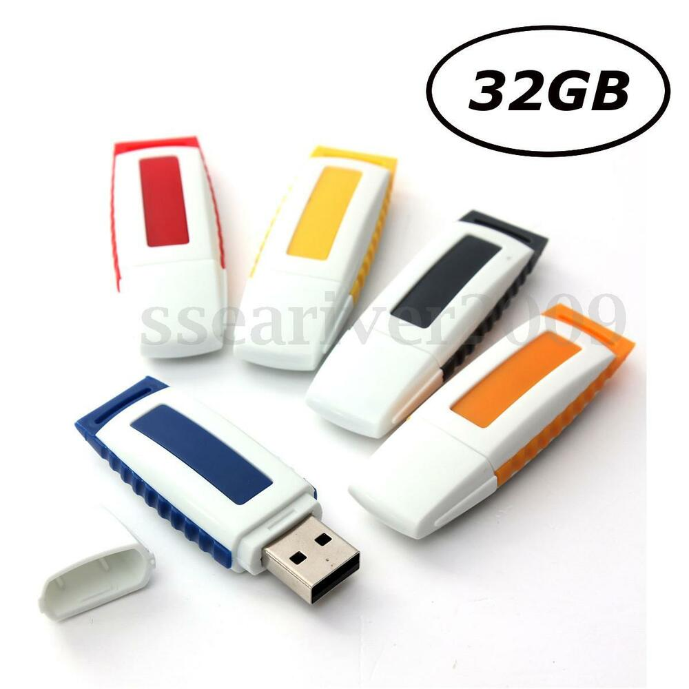 32gb usb 2 0 flash memory stick data storage thumb pen. Black Bedroom Furniture Sets. Home Design Ideas