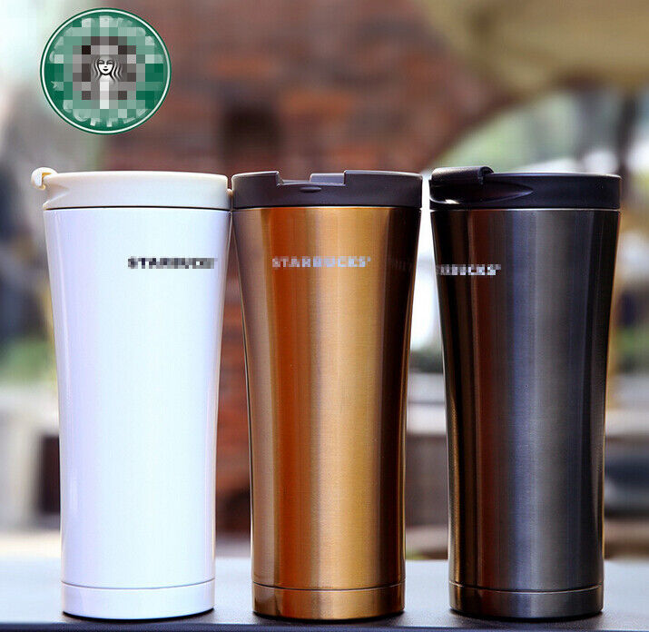 2016 starbucks stainless steel double layers vacuum thermos coffee travel mug ebay. Black Bedroom Furniture Sets. Home Design Ideas