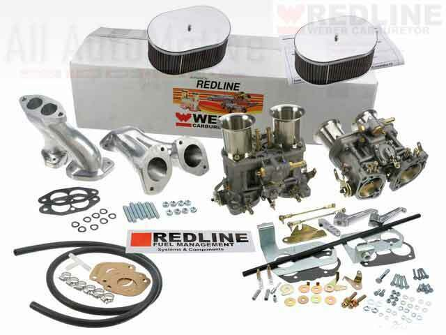 Weber Carburetor Kit Vw Bug  U0026 Type 1 Dual 48 Idf Weber