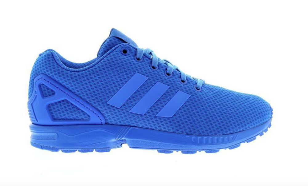 new products adf89 a7433 all blue adidas zx flux