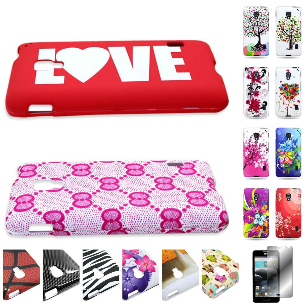 For LG Optimus F6 Hard Plastic Design Cover Case : eBay