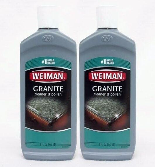 Marble Top Cleaners : Weiman granite cleaner polish rated brand kitchen