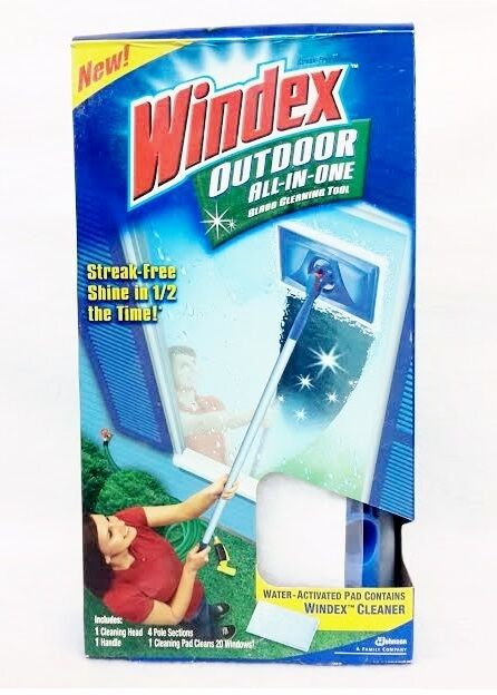 Windex OUTDOOR All-in-One Water Activated Glass Cleaning