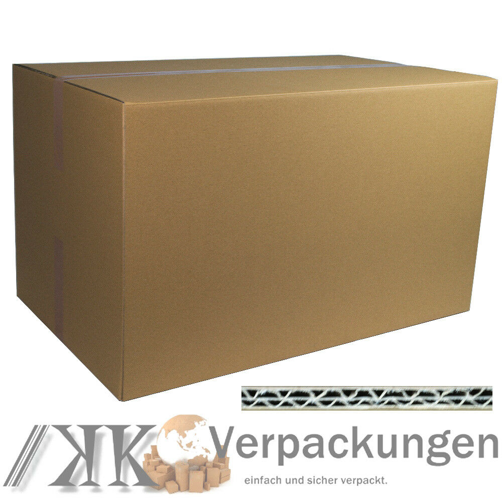 5 dhl karton 1000 x 600 x 600 mm versandschachtel faltkartons paket 2 wellig ebay. Black Bedroom Furniture Sets. Home Design Ideas