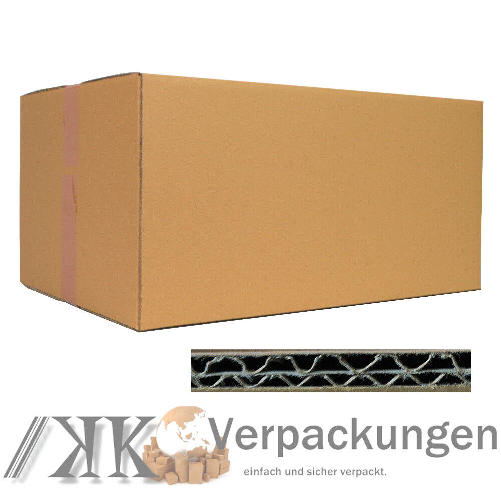 15 faltkarton 600 x 400 x 300 mm versand kartons faltschachteln dhl hermes 2 wel ebay. Black Bedroom Furniture Sets. Home Design Ideas