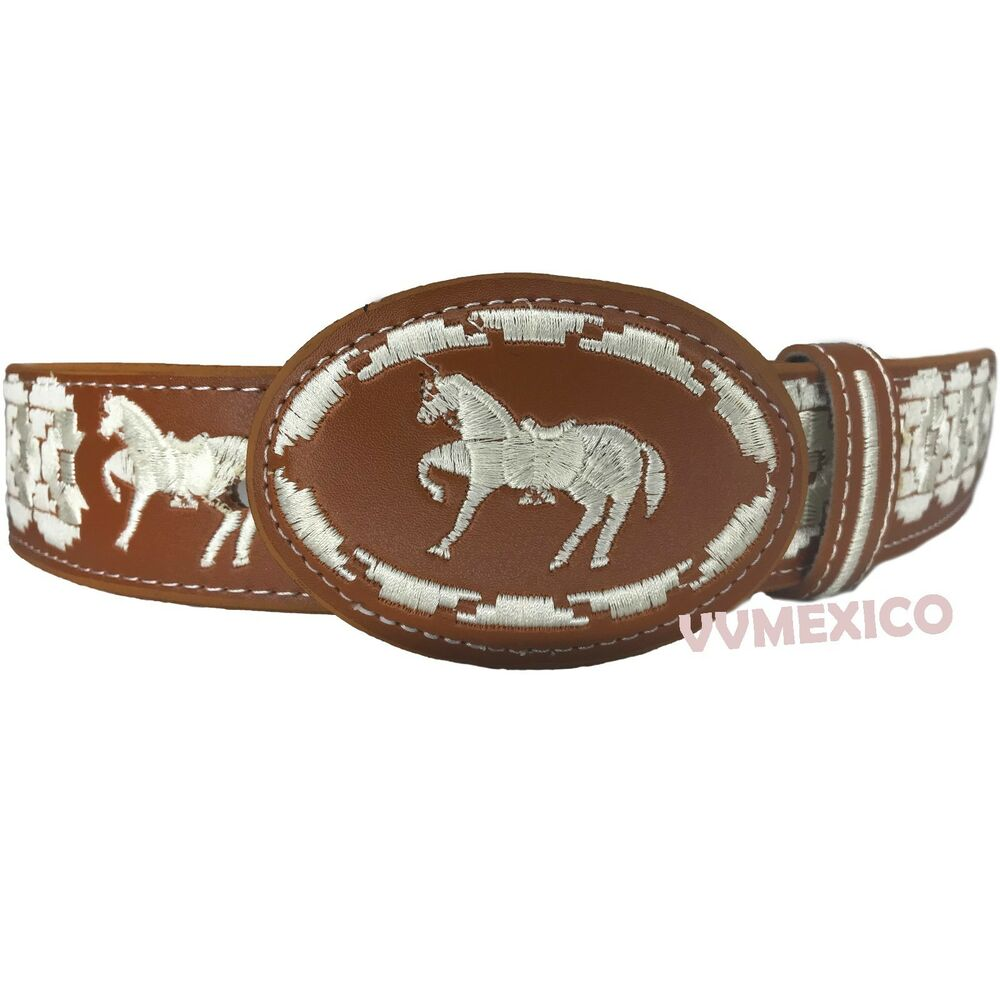 Mens mexican embroidered western piteado horse caballo