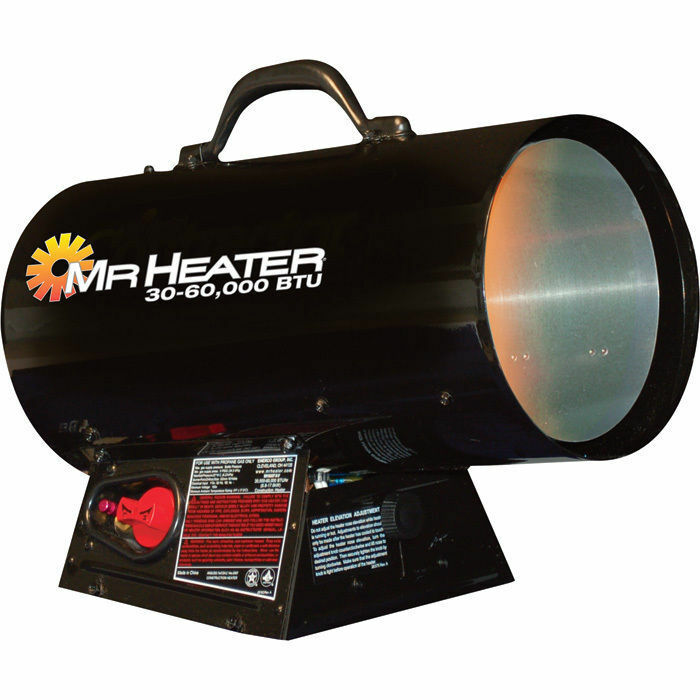 Mr Heater MH60FAV Garage Workshop LP Propane Forced Air ...