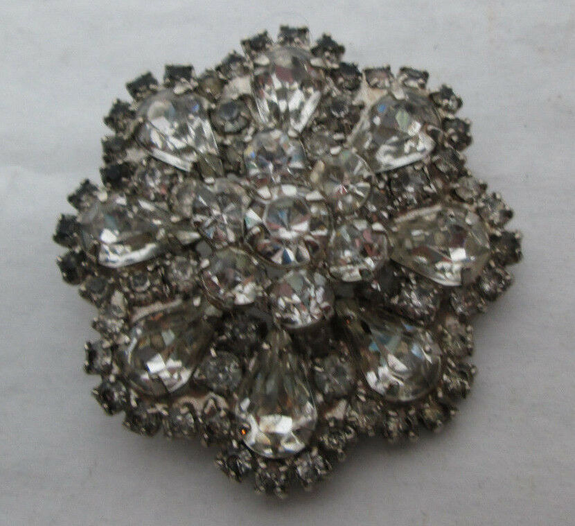 vintage weiss signed costume jewelry brooch pin 1 7 8 ebay. Black Bedroom Furniture Sets. Home Design Ideas