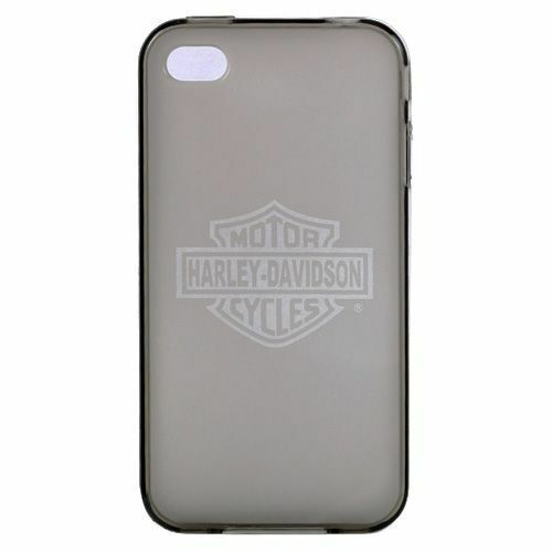 Officially Licensed Harley Davidson TPU Jelly Case for Apple iPhone 4 ...