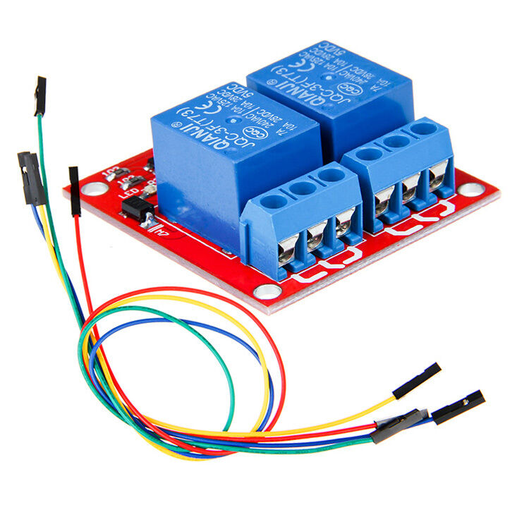 Channel relay module ttl level with jumper wire for