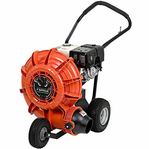 Self Propelled Walk Behind Leaf Blower: Billy Goat Force 389cc Honda 4-Cycle Self-Propelled Walk