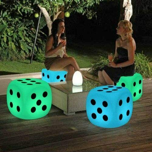 Illuminated Cocktail Tables Chair Color Changing Led