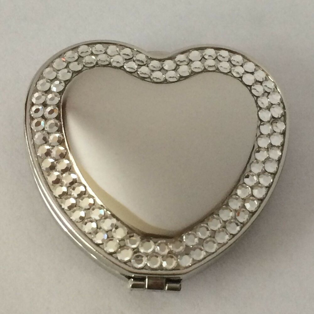 Heart Shaped Double Compact Mirror With Rhinestones, New. Pictures Of A Daybed. End Table Ideas. Patios. How Much Room Do You Need For A Pool Table. Organized Hawaii. Patio Furniture Dallas. Tropical Shower Curtain. Acrylic Bar Stools
