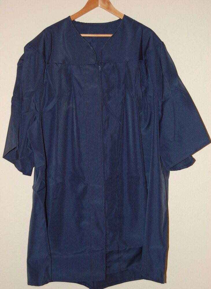 GRADUATION CAP and GOWN - Dark Blue - Herff Jones - Many Sizes ...