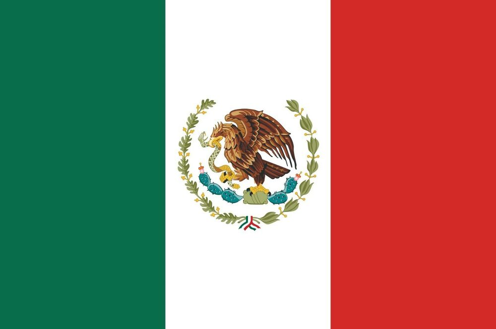 Mexico Mexican Vinyl Flag Decal Sticker Up To Size