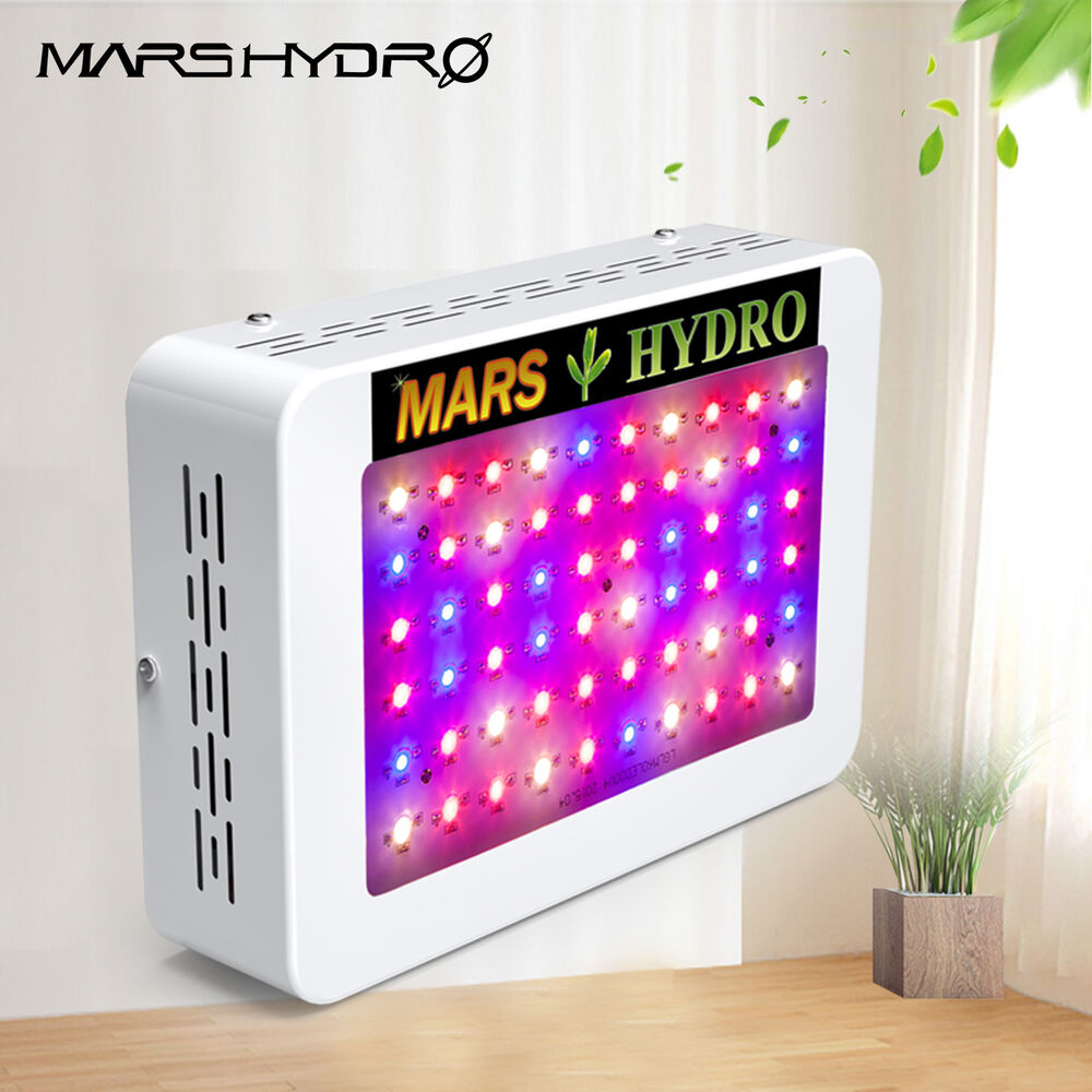 mars 300w led grow light panel lampe voll spektrum pflanze. Black Bedroom Furniture Sets. Home Design Ideas