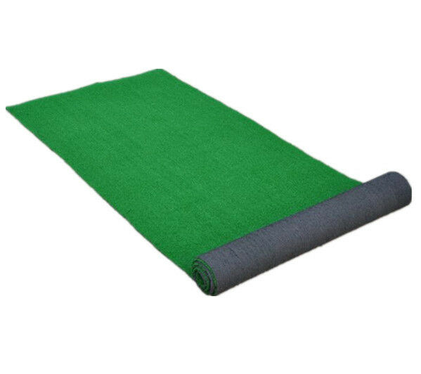 3'x10' Artificial Grass Area Rug Green Syhtetic Turf