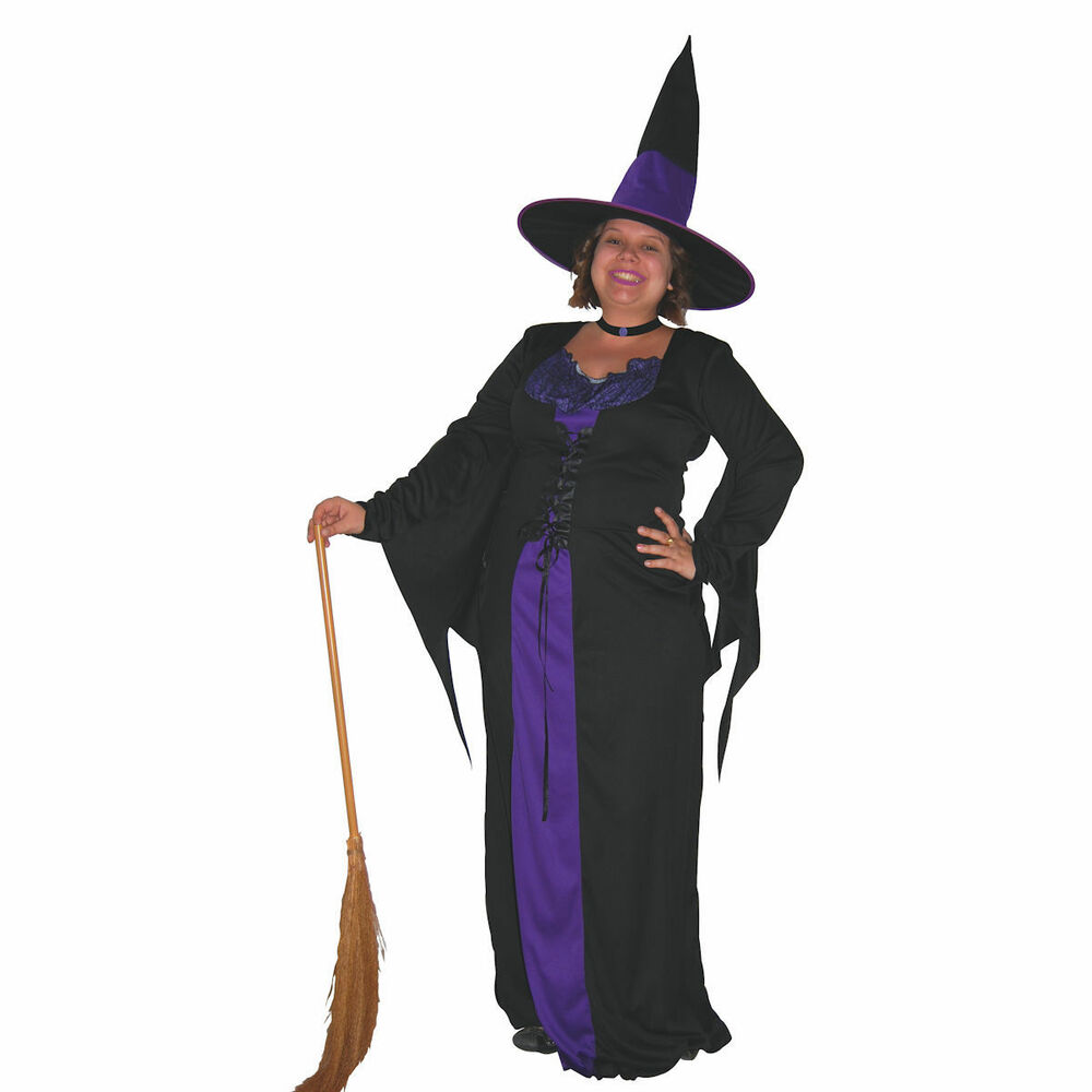 Plus Size Ms. Witch Costume |Plus Size Halloween Costumes Witch