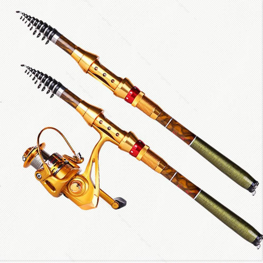 Superhard carbon fiber telescopic a saltwater rod for Ebay fishing poles