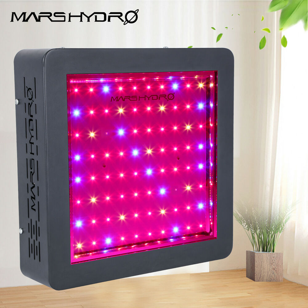 mars ii 400w led grow light vull spectrum lampe f r indoor. Black Bedroom Furniture Sets. Home Design Ideas