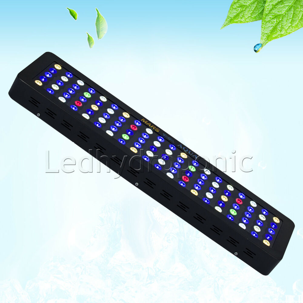 300w dimmbar led aquarium beleuchtung licht lampe light for reef coral marine ebay. Black Bedroom Furniture Sets. Home Design Ideas