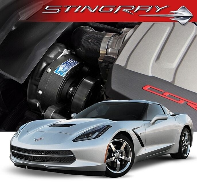 Accessories For Your Chevy Lt1: Chevy Vette C7 Stingray LT1 Procharger P-1SC1 Supercharger