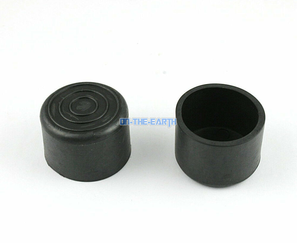 24 Pieces 30mm Round Rubber Furniture Chair Table Leg
