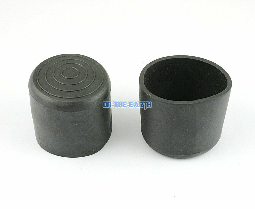 8 Pieces 38mm Round Rubber Furniture Chair Table Leg Cover