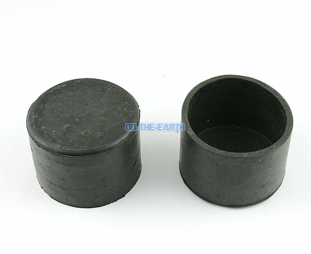 8 Pieces 45mm Round Rubber Furniture Chair Table Leg Cover