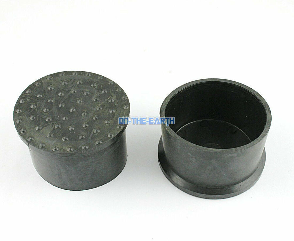 8 Pieces 48mm Round Rubber Furniture Chair Table Leg Cover
