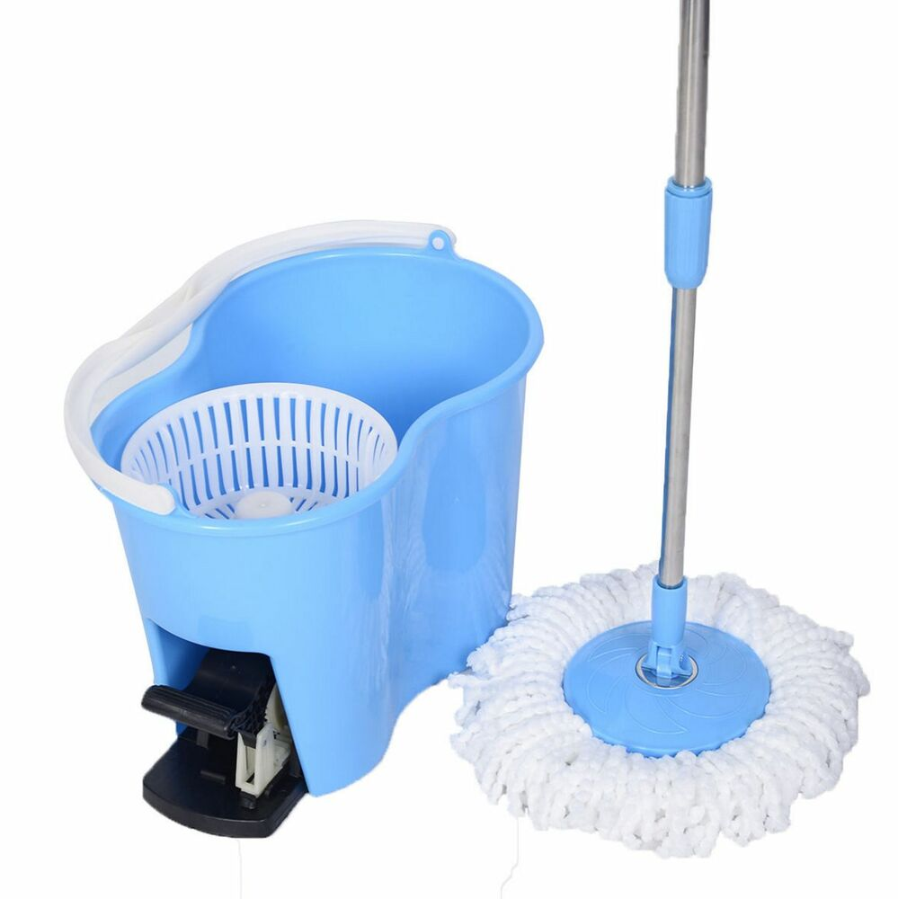 how to fix spin mop bucket