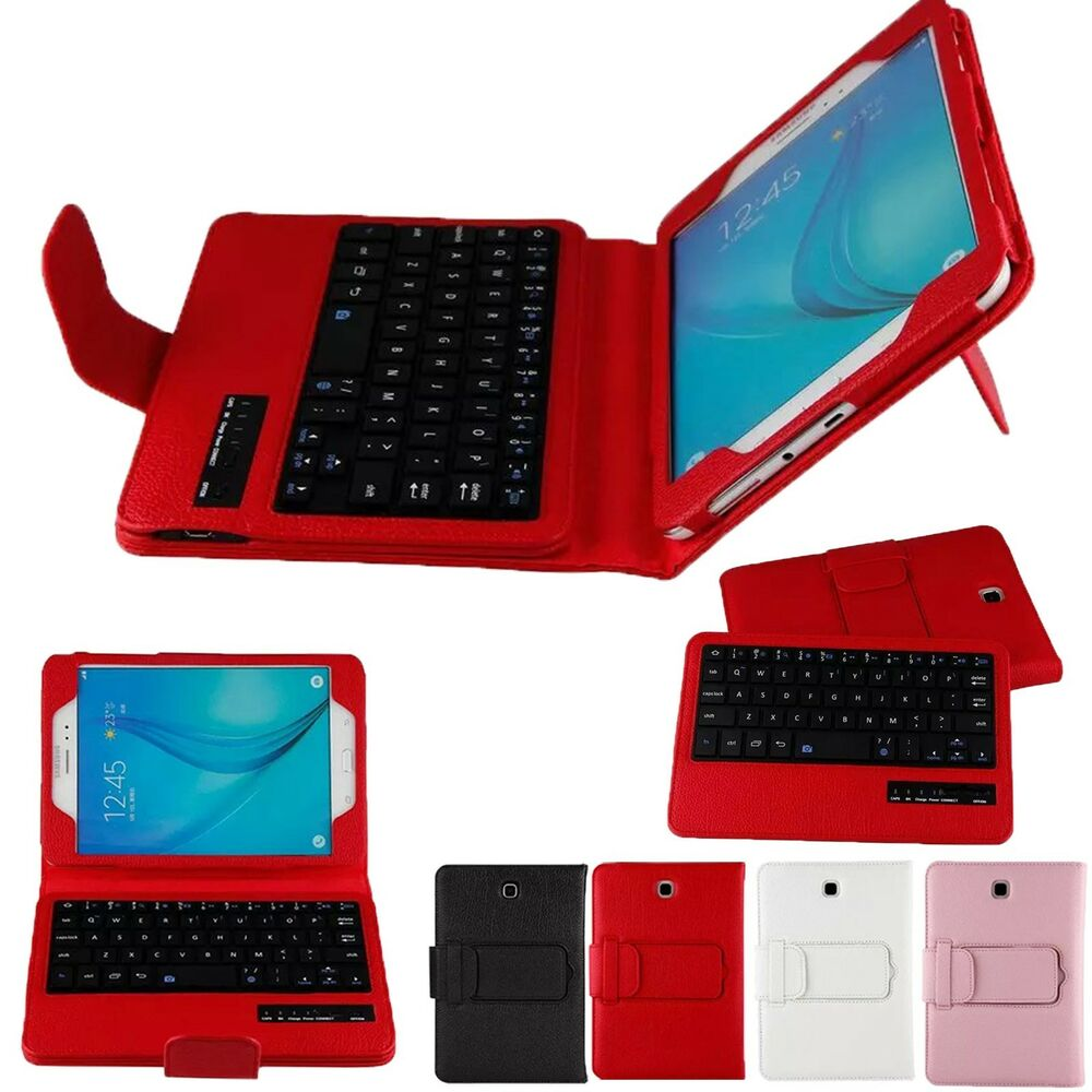 Bluetooth Keyboard Case Cover For Samsung Galaxy Tab A 8 0