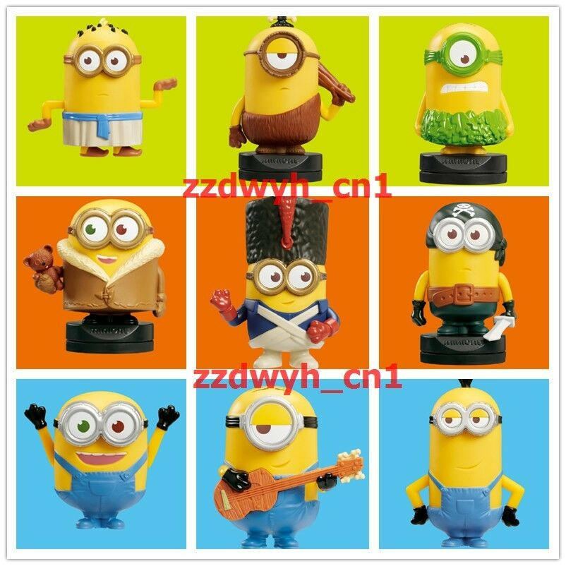 2015 Minions McDonald's Happy Meal Toys Despicable Me ...