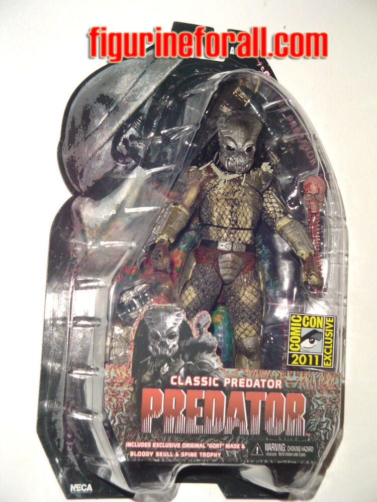 "Offer Up San Diego >> NECA CLASSIC PREDATOR GORT MASK 7"" Figure San Diego Comic-Con EXCLUSIVE SDCC 