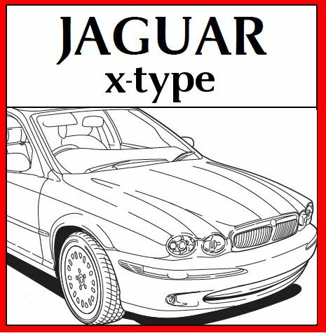 jaguar x type xtype x type workshop repair service manual. Black Bedroom Furniture Sets. Home Design Ideas