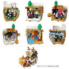 Bandai One Piece Memorial Log Ships Ship Boat Sunny Thousand Figure BOX Set x 6