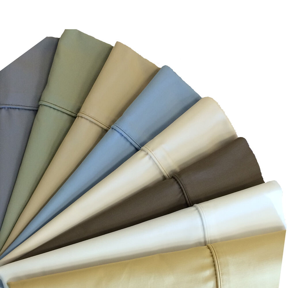 Pillowcases 650 Thread Count Solid Wrinkle Free Best