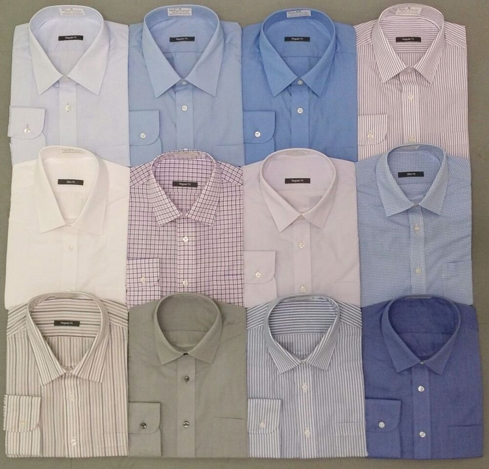 ex m s marks and spencer long short sleeve mens shirt