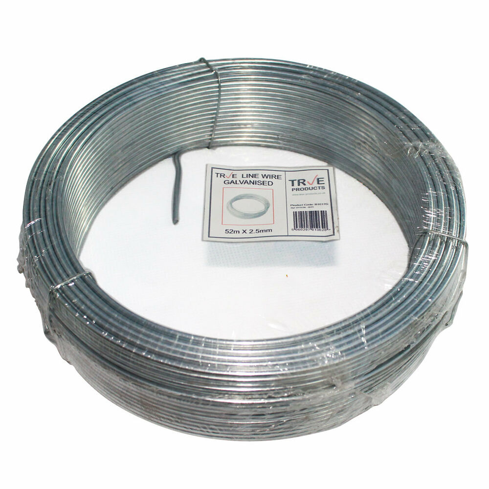 Galvanised Steel Tension Straining Line Wire Fencing Chain Link ...